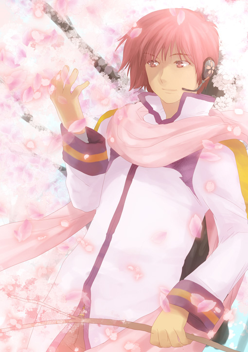 kaito_in_the_cherry_blossom_by_kisataro-d3e3kkz